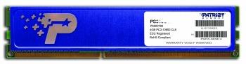 Patriot 4GB 1333MHz DDR3 CL9 DIMM s modrým chladičem
