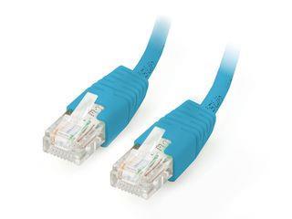 Equip patch kabel U/UTP Cat. 5E 1m modrý