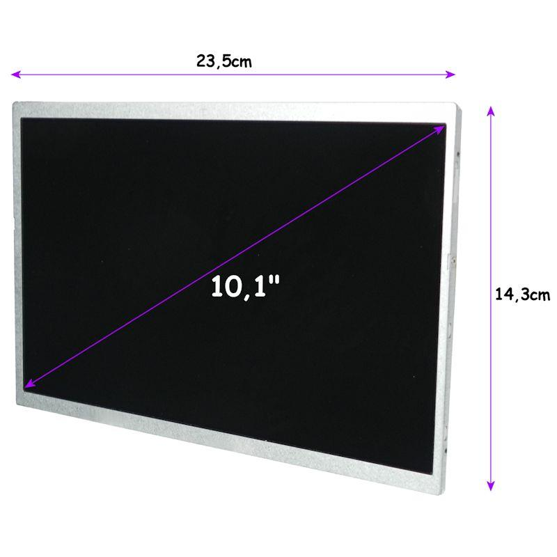 Qoltec LED displej 10.1'' 1024*600 GLOSSY - 40Pin, GRADE A+