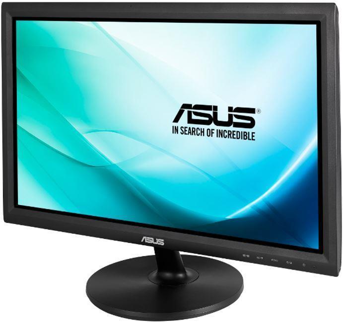 Asus LCD VT207N 19,5'', LED,dotykový, 5ms, DVI, USB2.0, 1600x900, 170°/160°