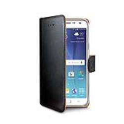 Celly WALLY pouzdro pro Samsung Galaxy J5 Black, eko kůže