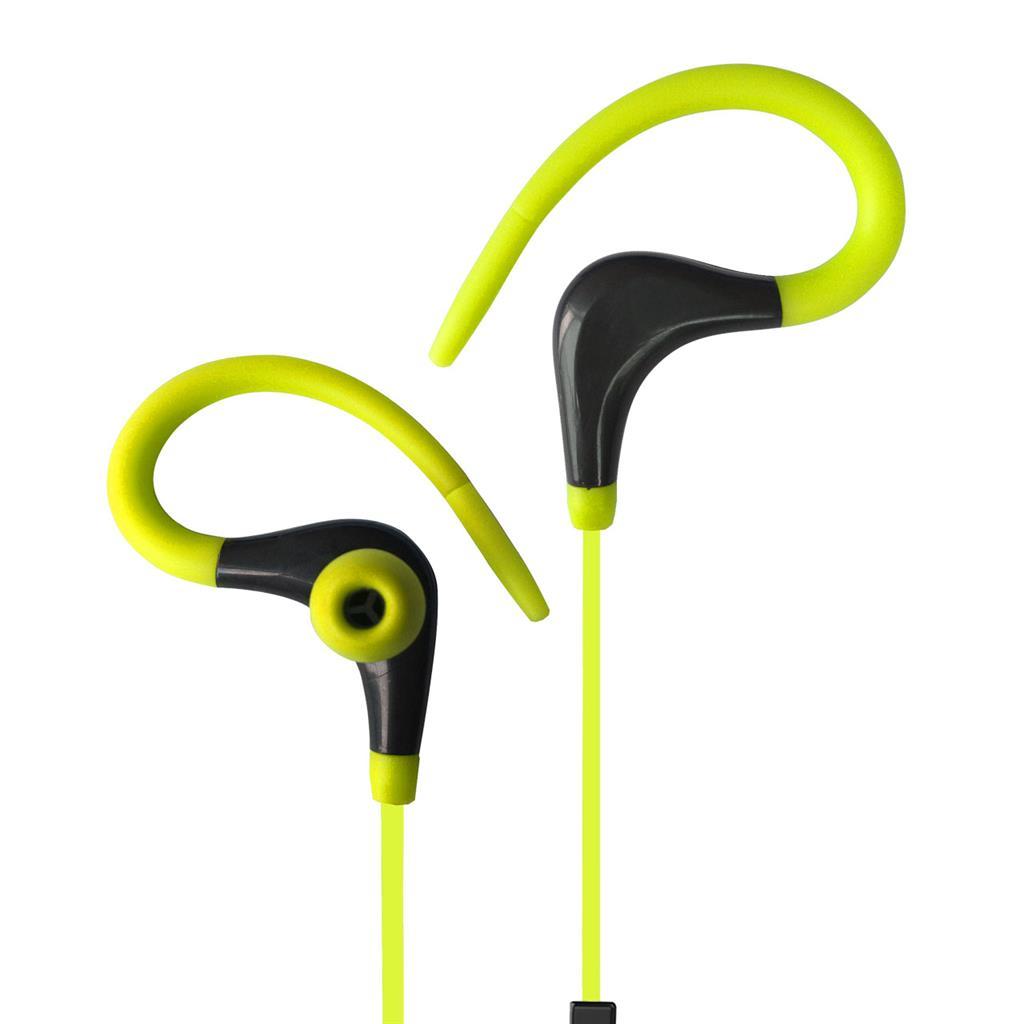 ART Bluetooth Headphones with microphone AP-BX61 lime sport (EARHOOK)