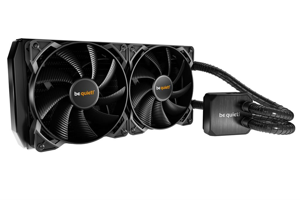 be quiet! water cooler Silent loop 280mm, LGA 115*, 1366, 2011, AMD AM2+ AM3+
