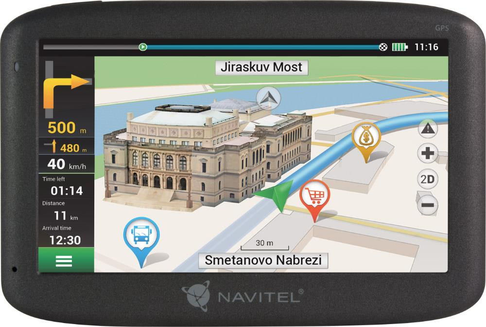 NAVITEL F300 LIFETIME Europe (43 zemí) 5''
