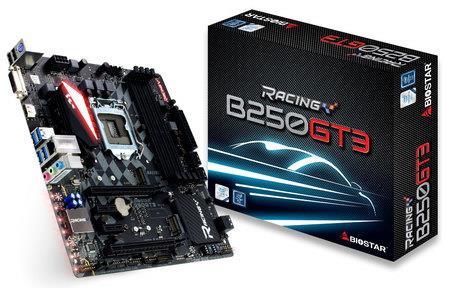 Biostar B250GT3, LGA 1151, B250, DDR4-2400/ 2133/ 1866, 4 x USB 3.0