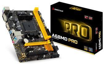 Biostar A68MD PRO, FM2+, AMD A70M, DDR3-2600, USB 3.0