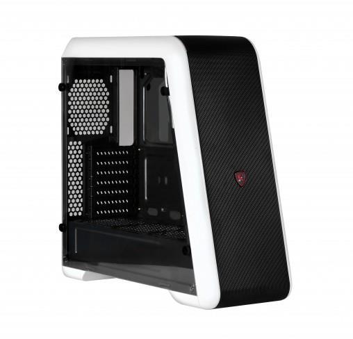 SPIRE skříň EMPIRE WHITE X2-S9020W, USB 3.0, gaming, bez zdroje