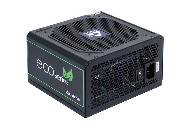 CHIEFTEC zdroj iARENA ECO GPE-500S, 400W, 120mm fan, PFC, účinnost >85%, Bronze, Retail