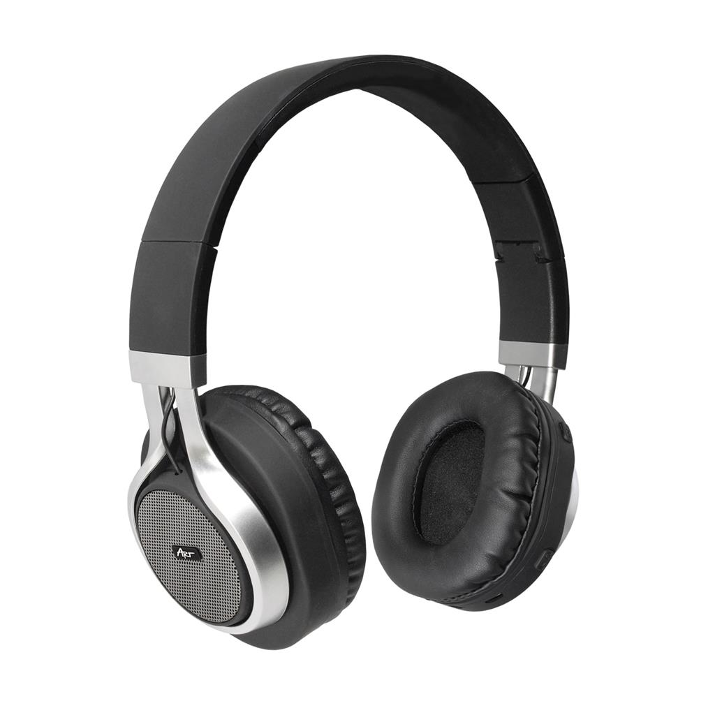 ART Bluetooth Headphones with microphone AP-B04 black/silver