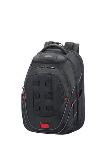 Backpack SAMSONITE 59N19001 17.3'' LEVIATHAN comp., doc., tablet,pock, black/red