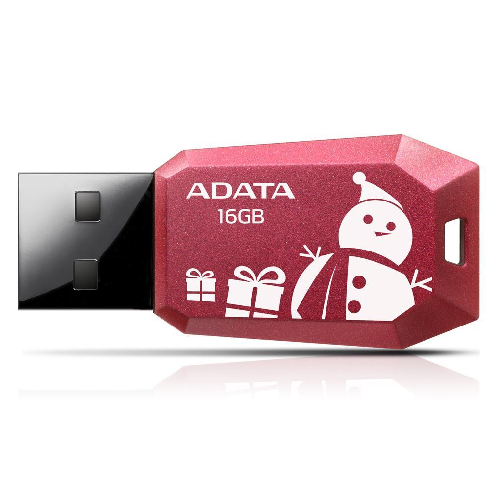 ADATA flashdisk 16GB vánoční edice