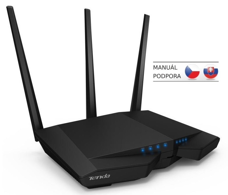 Tenda AC18 Wireless AC Router 1900Mb/s, 1x USB3.0, 1x GWAN, 4x GLAN,DLNA/FTP/VPN/Print/Media server
