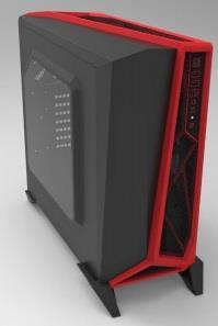 Corsair PC skříň Carbide Series™ SPEC-ALPHA Micro-ATX, Mini Itx, černo-červená