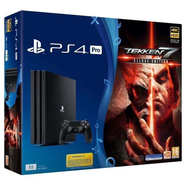 Sony PlayStation 4 Pro 1TB Black + Tekken 7