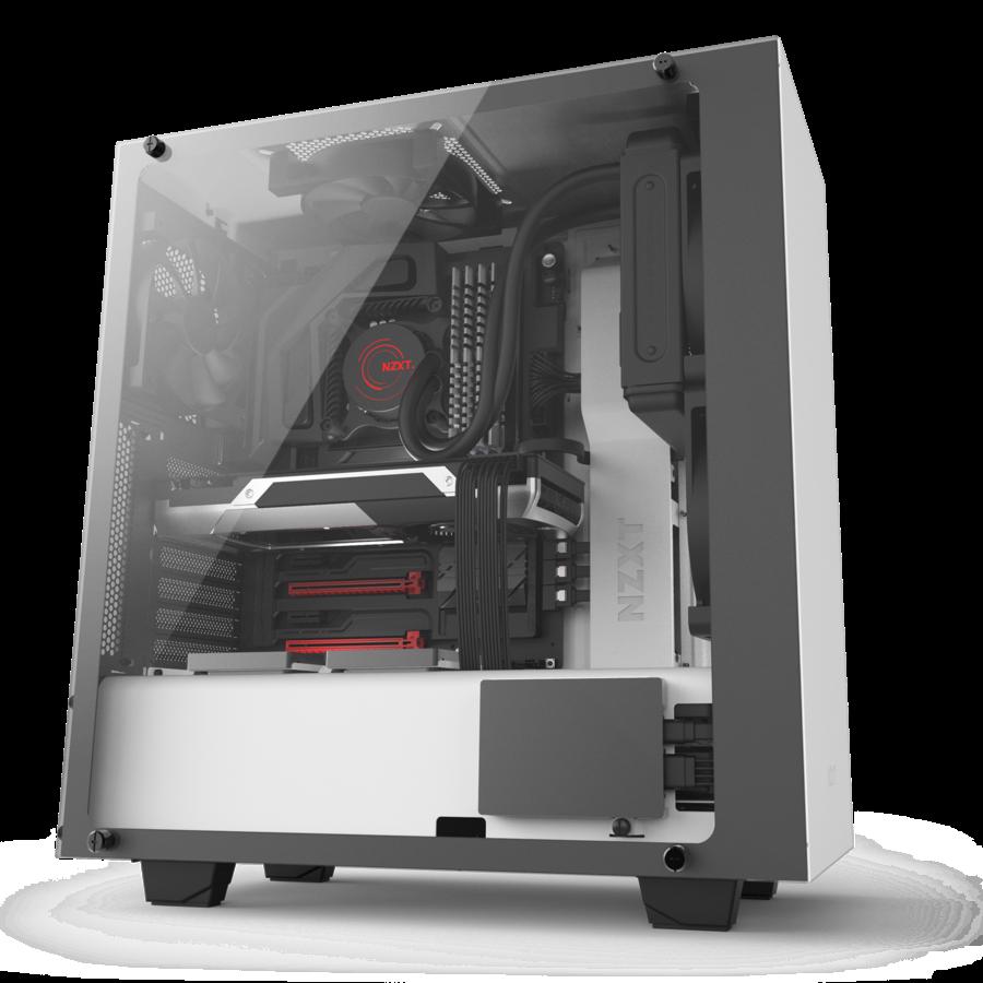 NZXT PC skříň S340 Elite Matte bílá