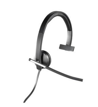 Logitech H650e Sluchátka USB Mono