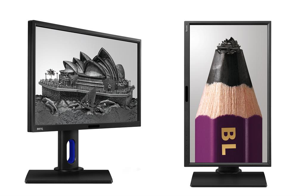 BenQ LCD BL2420PT 23,8''LED,5ms,VGA/DVI/HDMI/DP,USB,repro,2560x1440,HAS,pivot,č