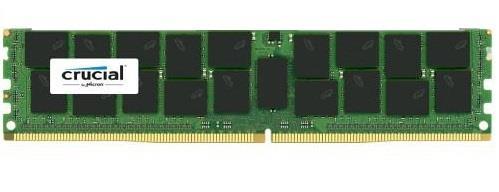 Crucial 32GB 2400MHz DDR4 CL17 ECC Registered DIMM, 288pin, PC4-2400