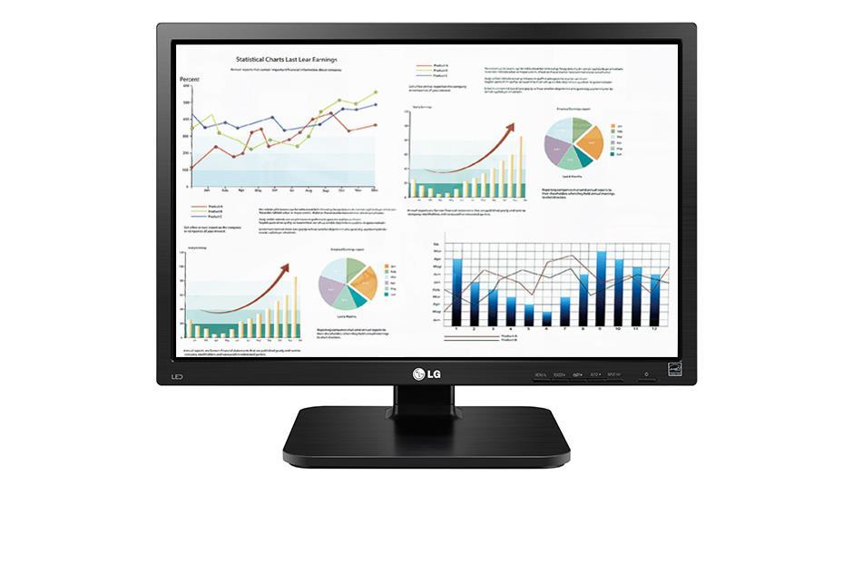Monitor LG 22BK55WD-B 22'' TN, 1680 x 1050, 5ms, D-Sub, DVI-D