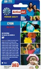 Inkoust ActiveJet AH-771 | Cyan | 10 ml | Refill | HP C8771EE