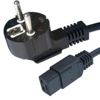 Gembird kabel síťový IEC320 C19/Schuko 1,8m, 16A