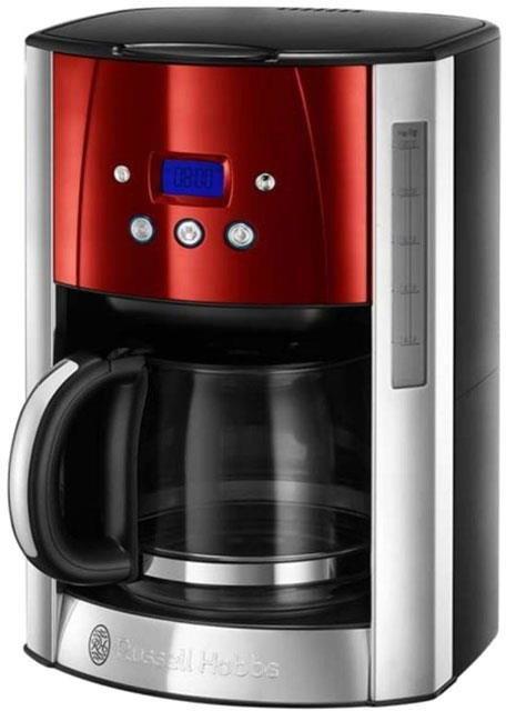 Kávovar Russell Hobbs 23240-56 Luna | stříbrno-červený