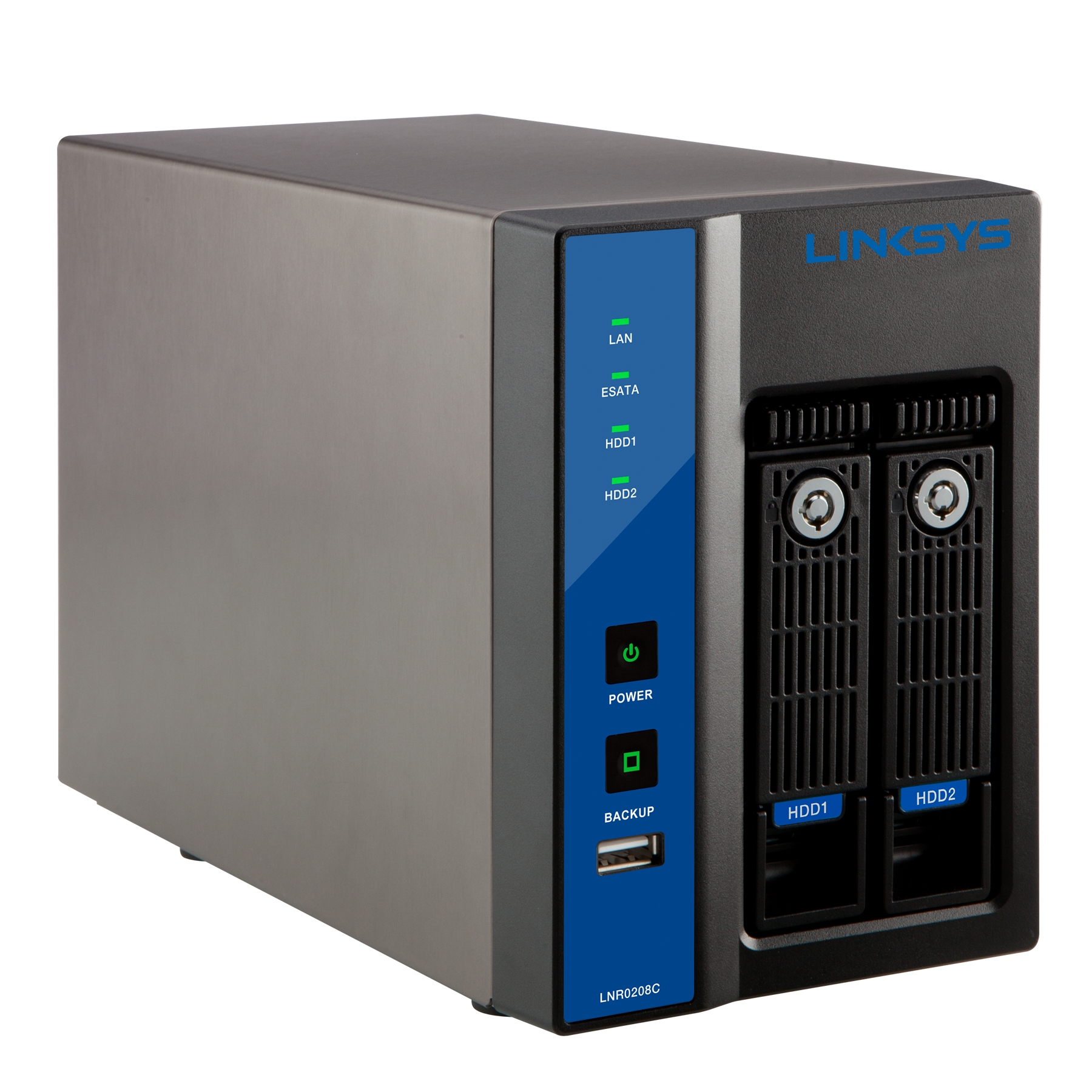 Linksys SMB 2-bay 8 Channel Network Video Recorder