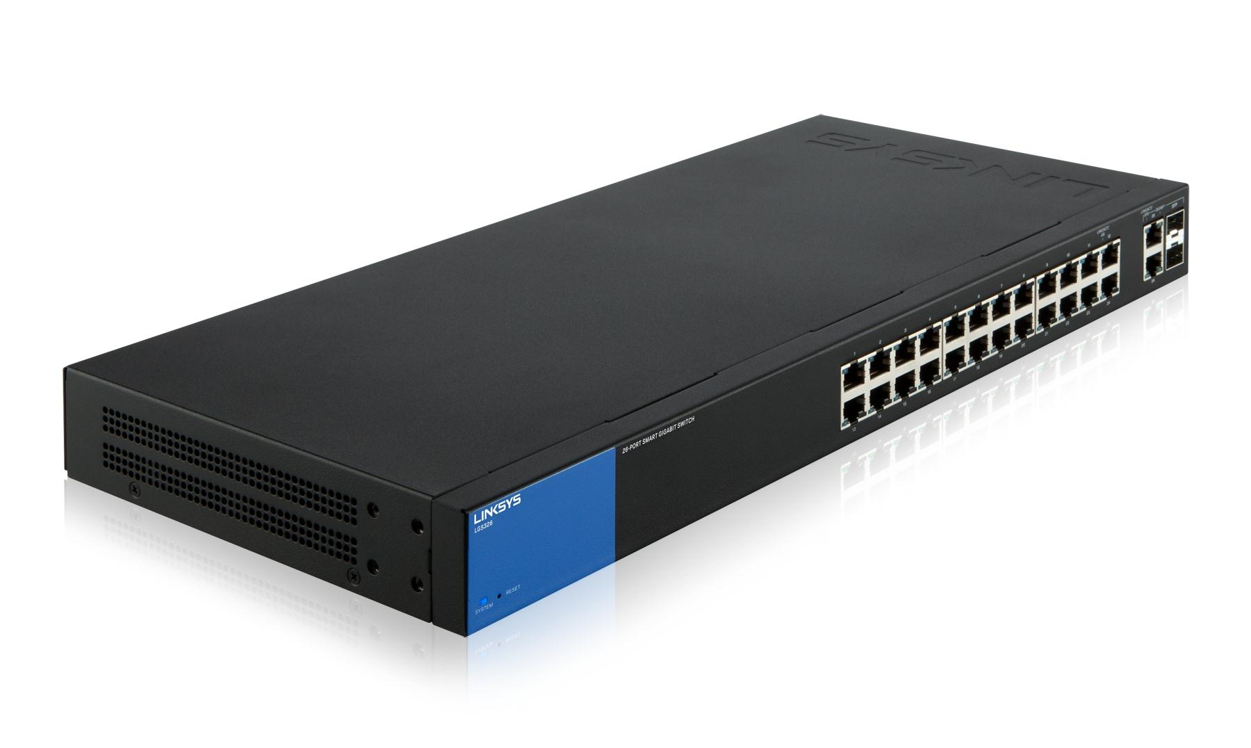 Linksys SMB switch Smart LGS326 26-port Gigabit