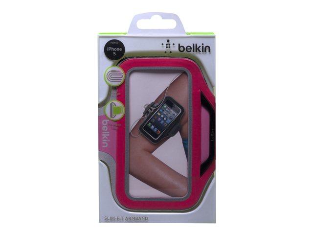 Belkin iPhone 5/5s/5c/SE sportovní pouzdro Slim-Fit Plus, růžové