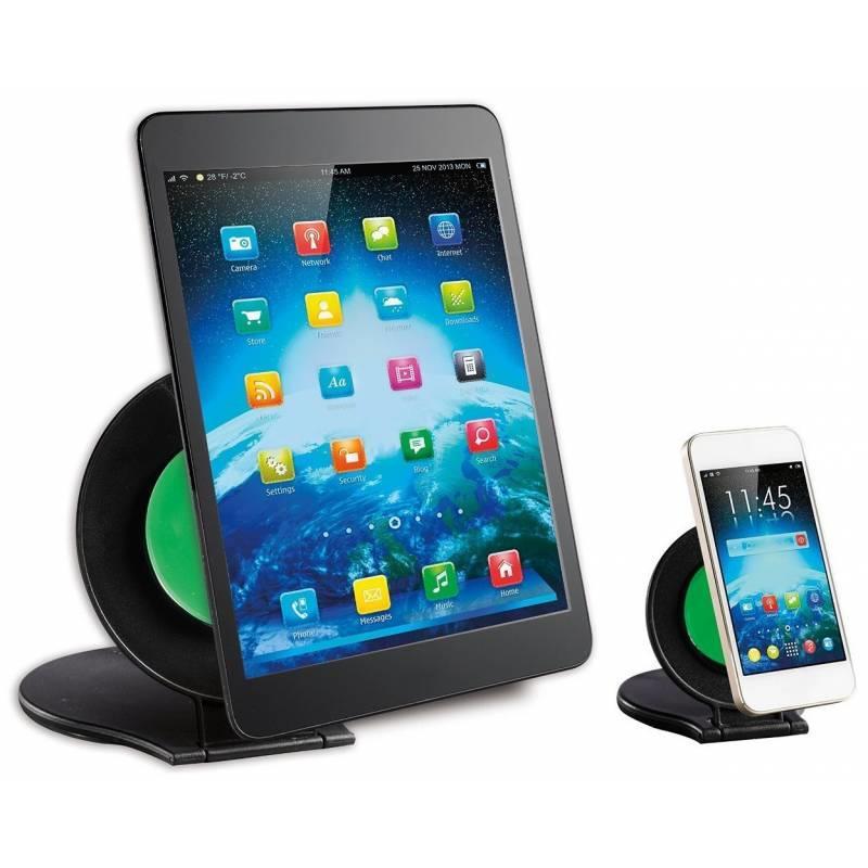 Techly Set dvou stojanů na tablet a smartphone, černý