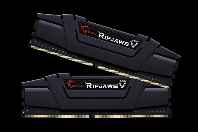 G.Skill RipjawsV DDR4 32GB (2x16GB) 3200MHz CL16 1.35V XMP 2.0