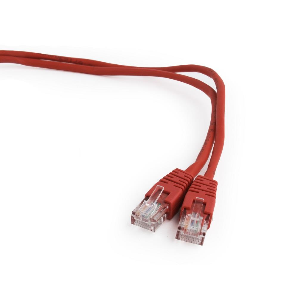 Gembird Patch kabel RJ45, cat. 5e, UTP, 2m, červený