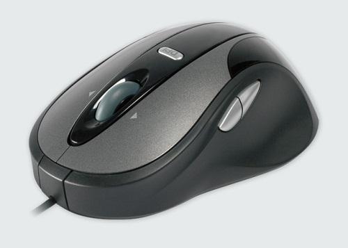 Modecom optická drátová myš MC-910, USB, černo-šedá