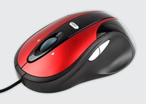 Modecom optická myš MC-910 (červeno-černá)