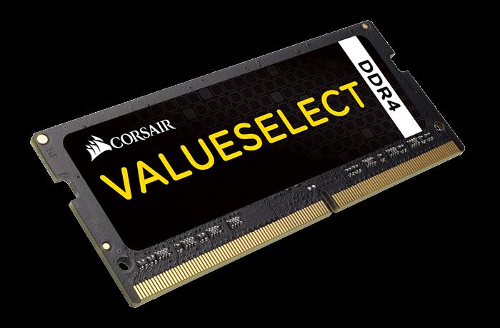 Corsair ValueSelect 2x4GB 2133MHz DDR4 SODIMM C15 1.2 V