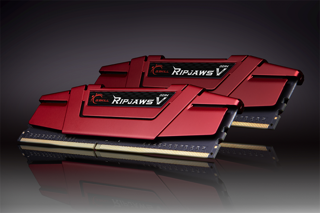 G.Skill RipjawsV paměť DDR4 8GB (2x4GB) 3000MHz CL15 1.35V XMP 2.0