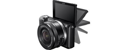 SONY Alfa5000 fotoaparát, 20.4MPix + 16-50mm - černý