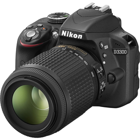 Zrcadlovka Nikon D3300 + 18–55 VR II + 55-200VR