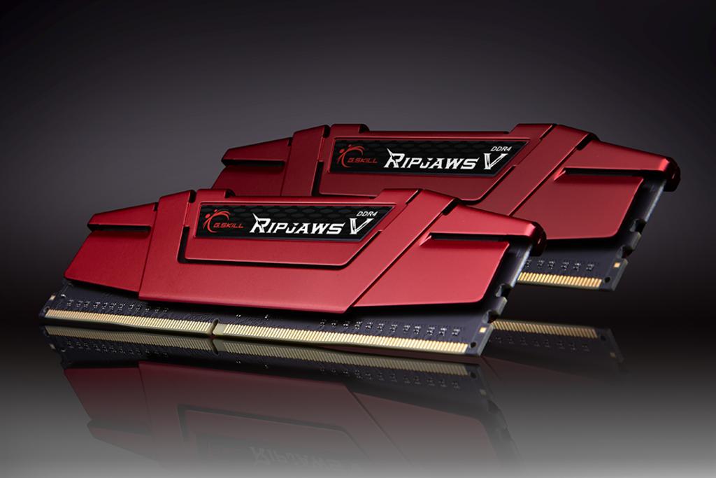 G.Skill RipjawsV DDR4 16GB (2x8GB) 3000MHz CL15 1.35V XMP 2.0 Red