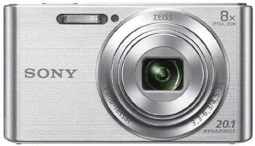 Fotoaparát Sony DSC-W830S stříbrný