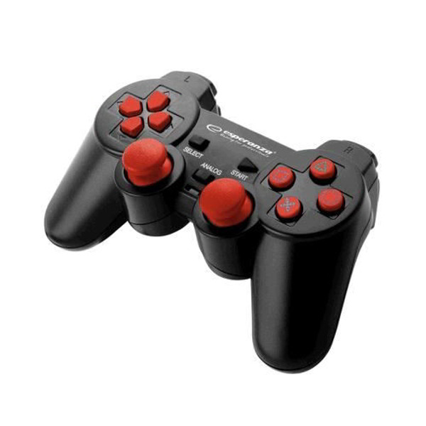 Esperanza Warrior Gamepad EG106R - Red