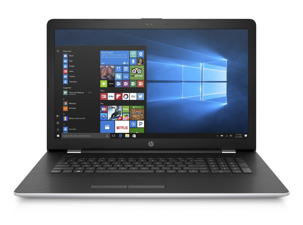 "HP 17-ak006nc/AMD A6-9200/8GB/1TB/AMD Radeon R4/17,3"" HD+/Win 10/stříbrný"