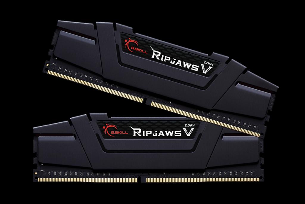 G.Skill RipjawsV paměť DDR4 16GB (2x8GB) 3200MHz CL14 1.35V XMP 2.0