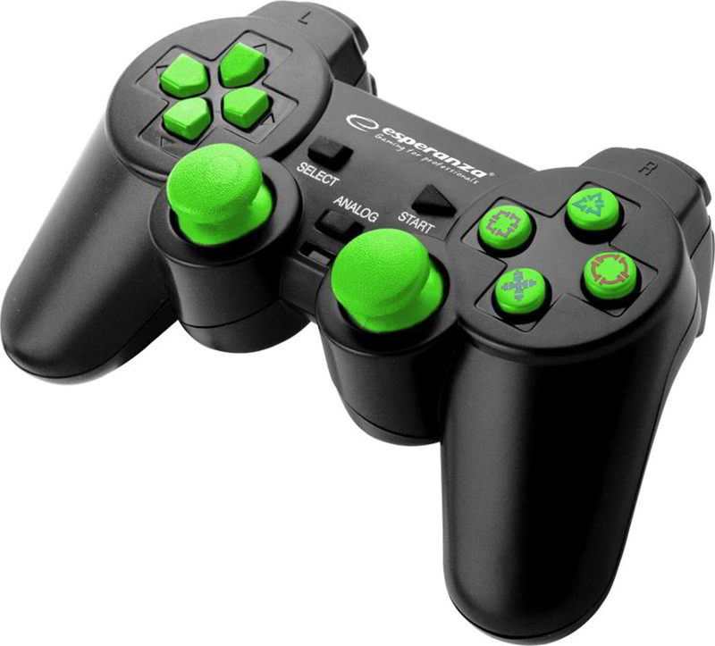Esperanza Warrior Gamepad EG106G - Green