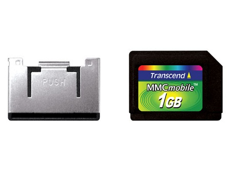 Transcend 1GB MMCmobile multimedia memory card