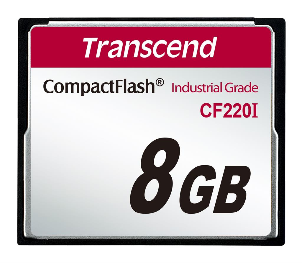 Transcend Paměťová karta Industrial CF220I 8GB (UDMA5)