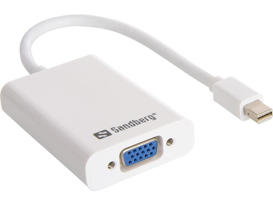 Sandberg Adapter MiniDP > VGA+Audio