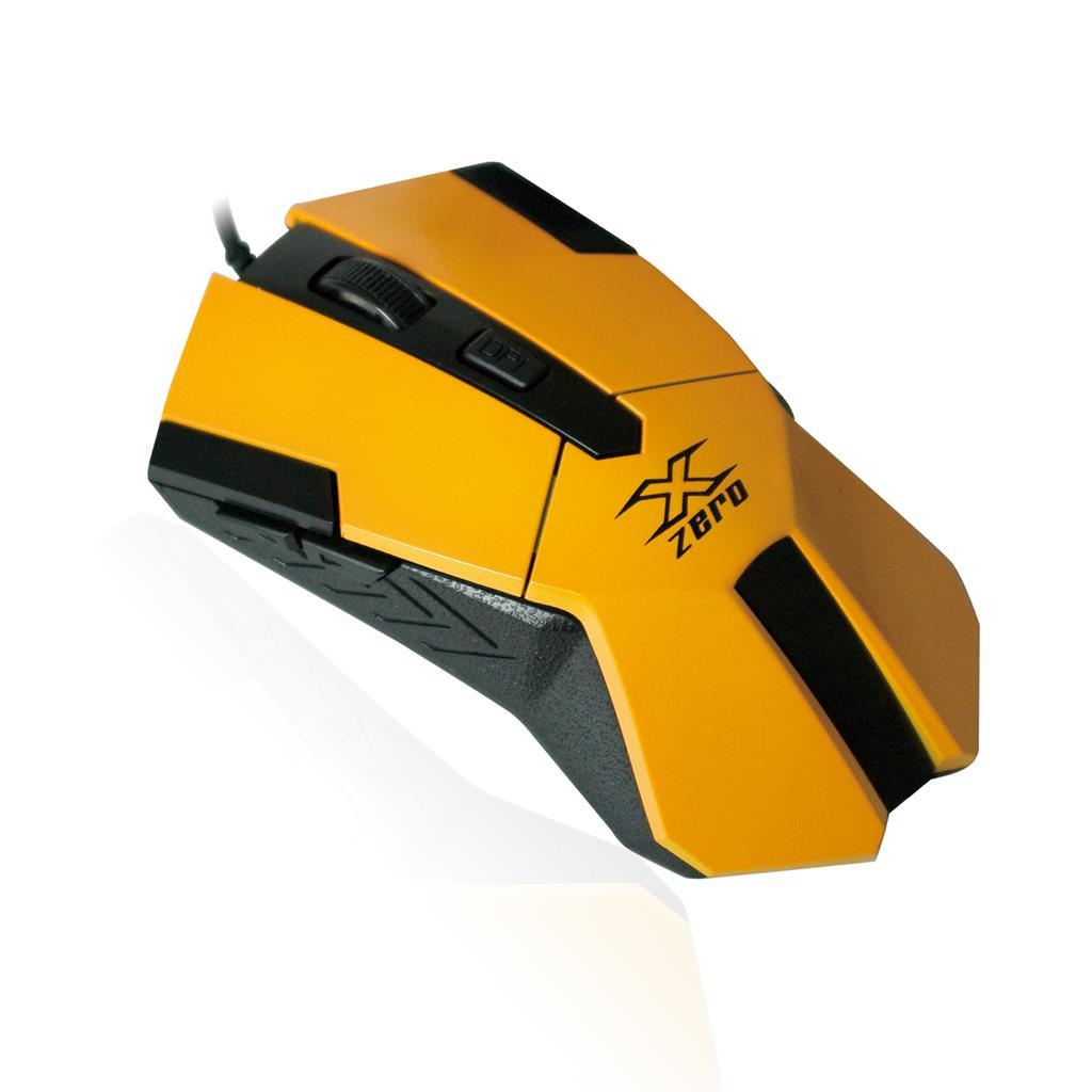 X-ZERO Herní optická myš 2400dpi, multifunkční tlačítka X-M331Y