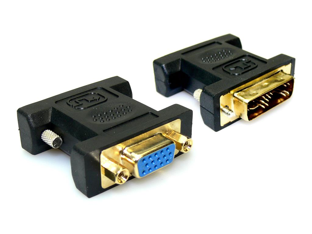 Sandberg adaptér VGA-monitor > DVI výstup, černý