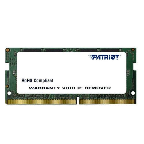 SO-DIMM 4GB DDR4-2133MHz Patriot CL15 256x16